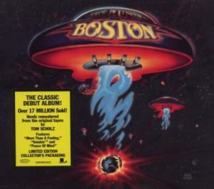 Boston debut album